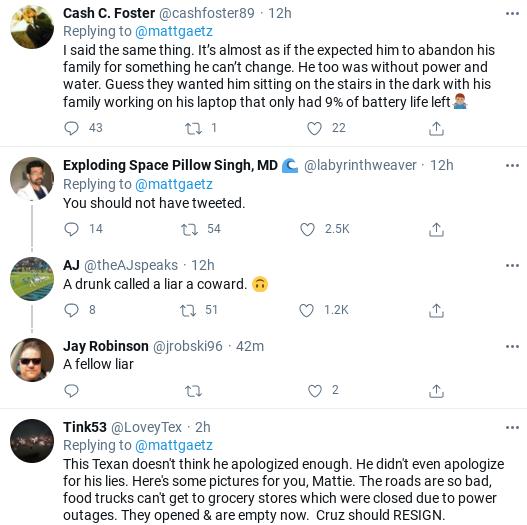 Screenshot-2021-02-19-at-2.08.12-PM Matt Gaetz Makes A Fool Of Himself In Defense Of Ted Cruz Corruption Politics Social Media Top Stories