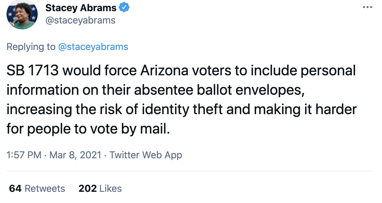 Screen-Shot-2021-03-08-at-2.14.46-PM Stacey Abrams Makes Power Move To Thwart GOP Voter Suppression Corruption Crime Featured Politics Top Stories