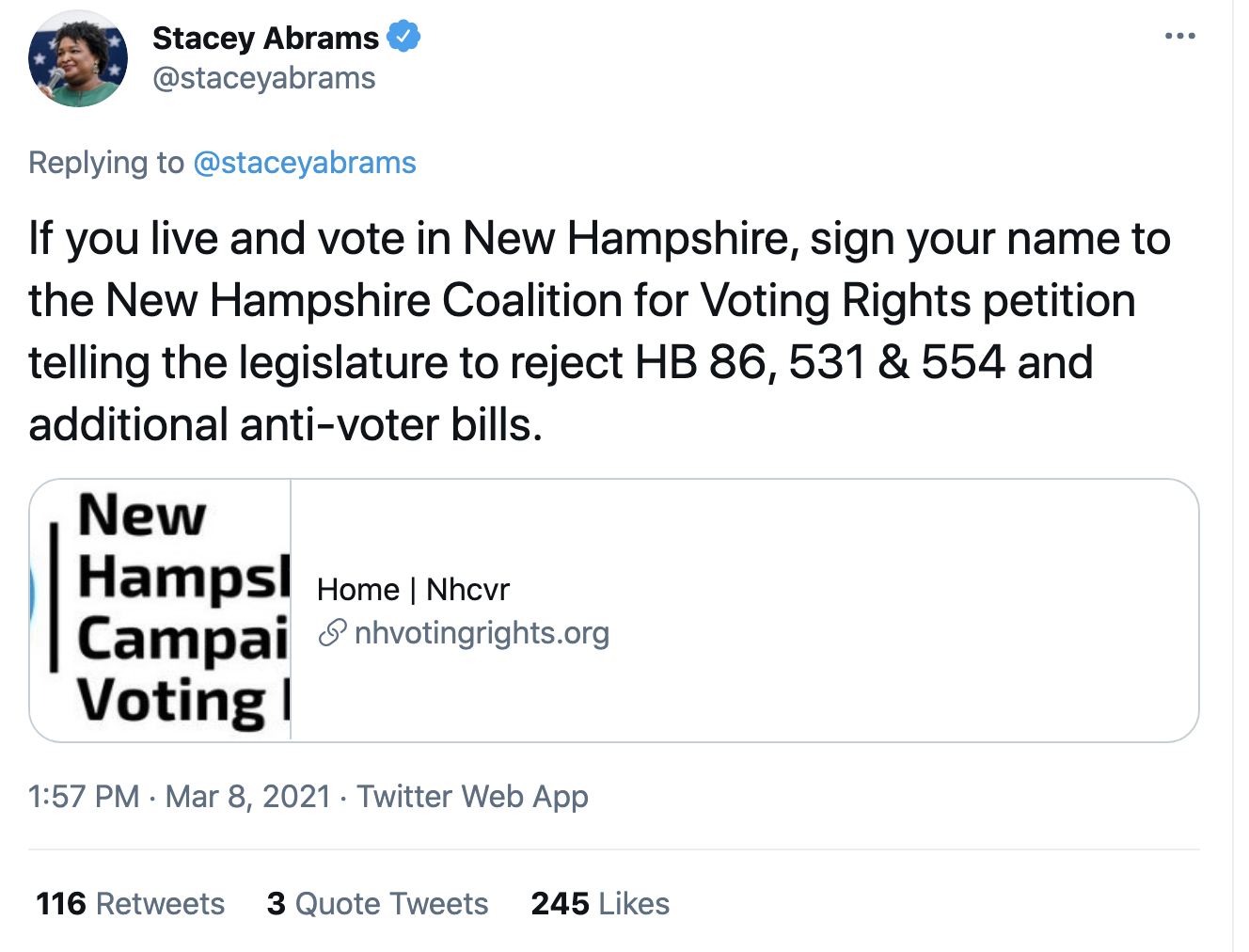 Screen-Shot-2021-03-08-at-2.20.16-PM Stacey Abrams Makes Power Move To Thwart GOP Voter Suppression Corruption Crime Featured Politics Top Stories