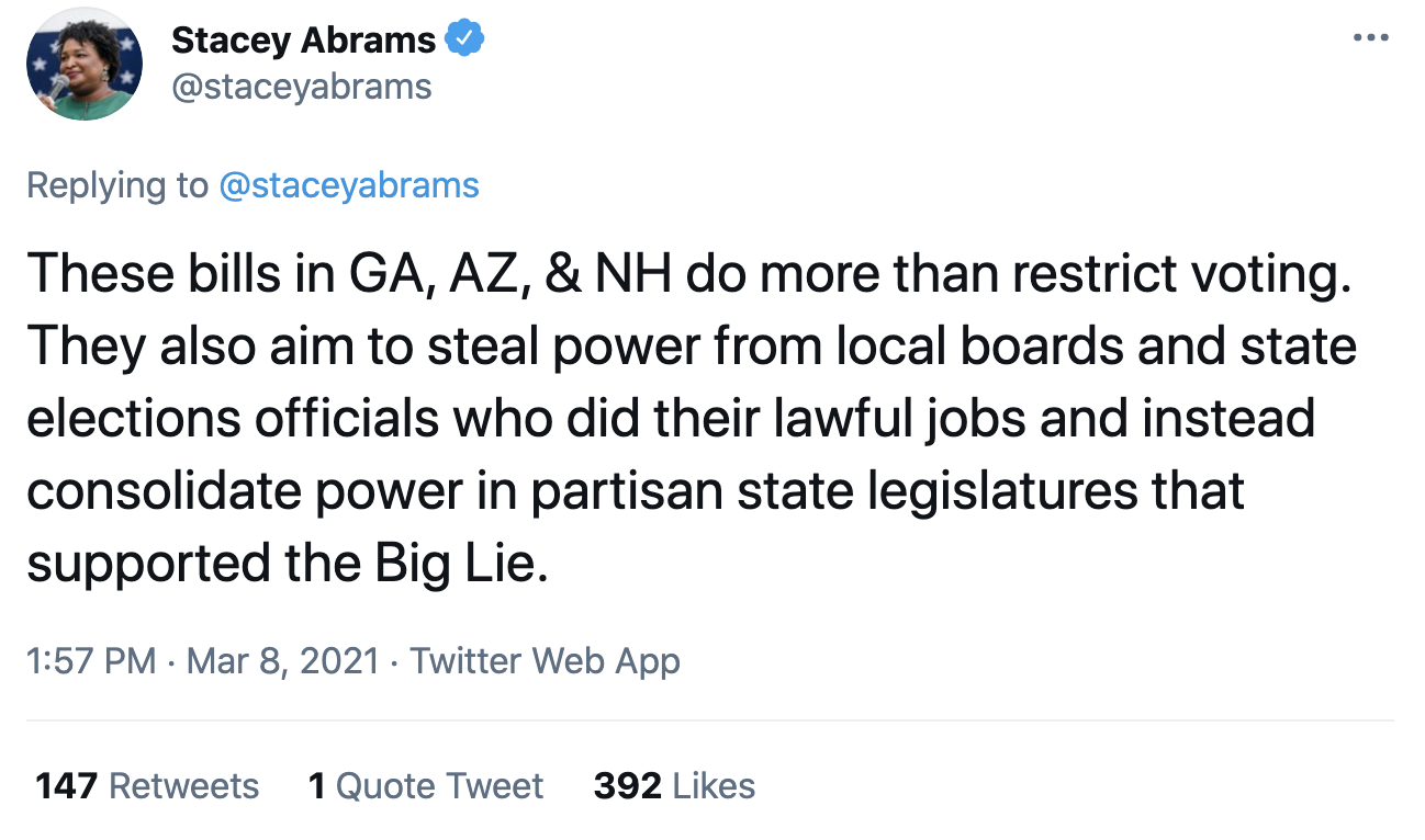 Screen-Shot-2021-03-08-at-2.20.54-PM Stacey Abrams Makes Power Move To Thwart GOP Voter Suppression Corruption Crime Featured Politics Top Stories