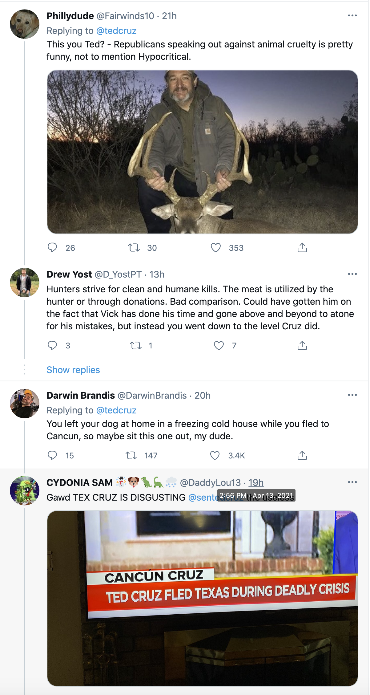 Screen-Shot-2021-04-14-at-10.51.47-AM LeBron James Dunks On Ted Cruz Over His Attack On Voting Rights Activism Civil Rights Featured Politics Top Stories
