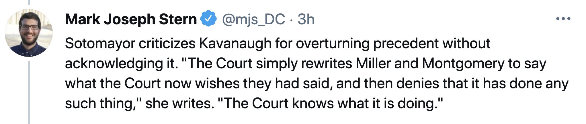 Screen-Shot-2021-04-22-at-1.01.29-PM Sonia Sotomayor Steamrolls Over Brett Kavanaugh In Thursday Rebuke Child Abuse Featured Politics Supreme Court Top Stories