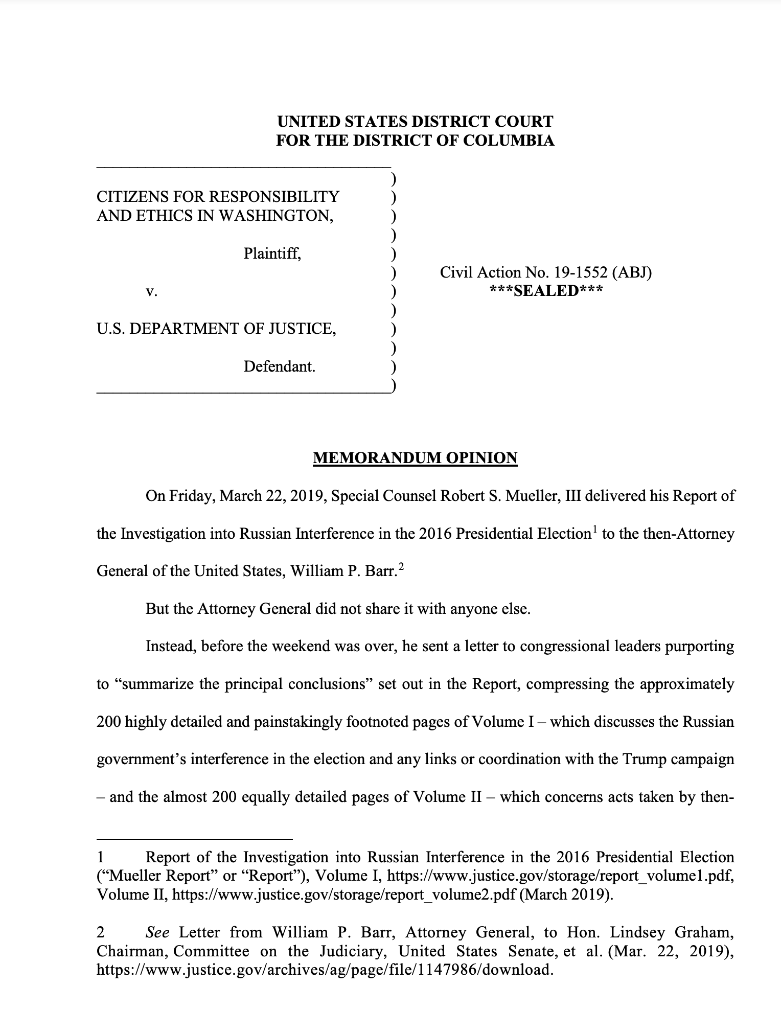 Screen-Shot-2021-05-04-at-1.47.51-PM Judge Orders Release Of Trump Obstruction Documents Exposing Barr Corruption Crime Featured Politics Top Stories