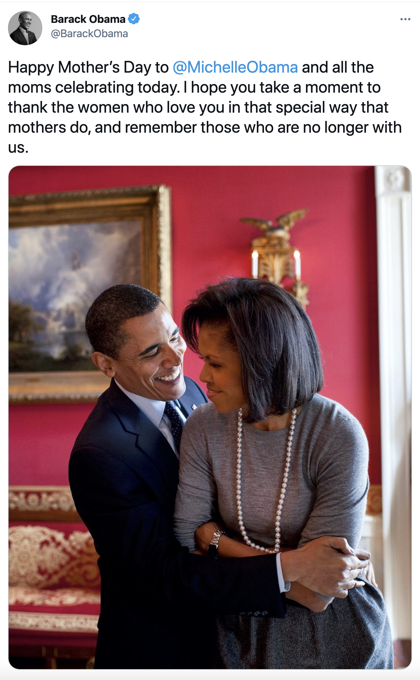 Screen-Shot-2021-05-09-at-10.44.58-AM The Obamas Celebrate Mothers Day With Display Of Public Love Featured Feminism Politics Top Stories Women's Rights