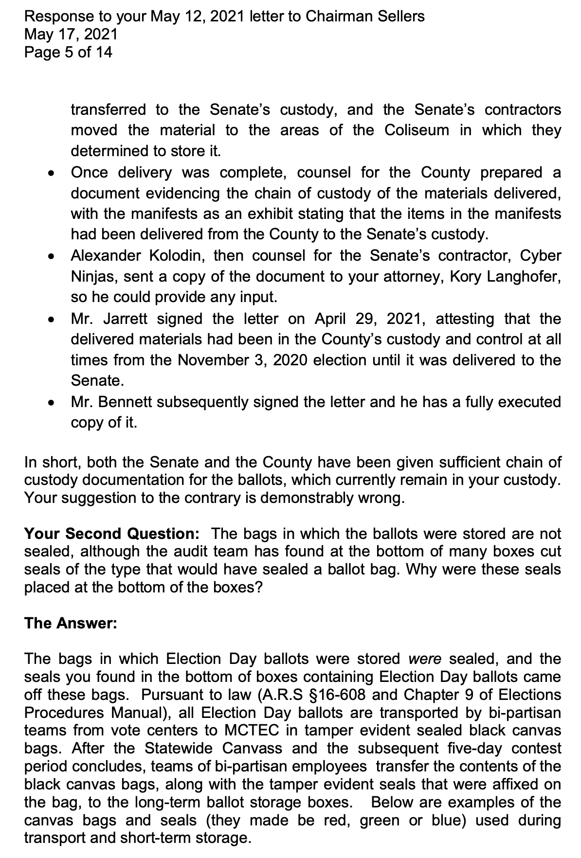 Screen-Shot-2021-05-18-at-8.44.11-AM AZ Recount In Collapse After County Board Rejects GOP 'Grift' Corruption Crime Election 2020 Politics Top Stories