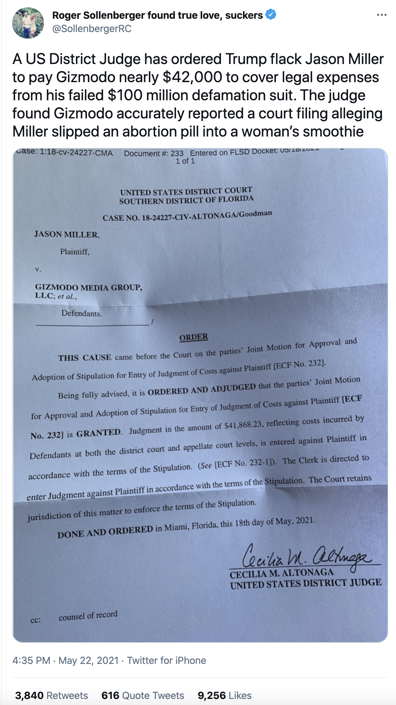 Screen-Shot-2021-05-23-at-8.46.08-AM Degenerate Trump Goon Forced To Pay Restitution After Court Loss Crime Featured Politics Sexual Assault/Rape Top Stories