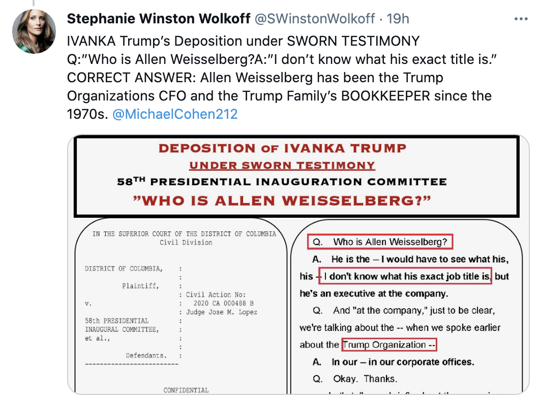 Screen-Shot-2021-05-23-at-9.37.10-AM Ivanka Trump Forgets Key Details While Testifying Under Oath Corruption Crime Featured Politics Top Stories