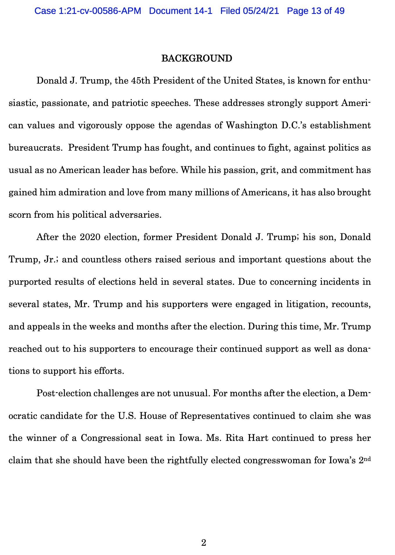 Screen-Shot-2021-05-25-at-9.49.02-AM Trump Declares Full Immunity From Jan. 6 Insurrection Lawsuit Crime Donald Trump Featured Politics Top Stories