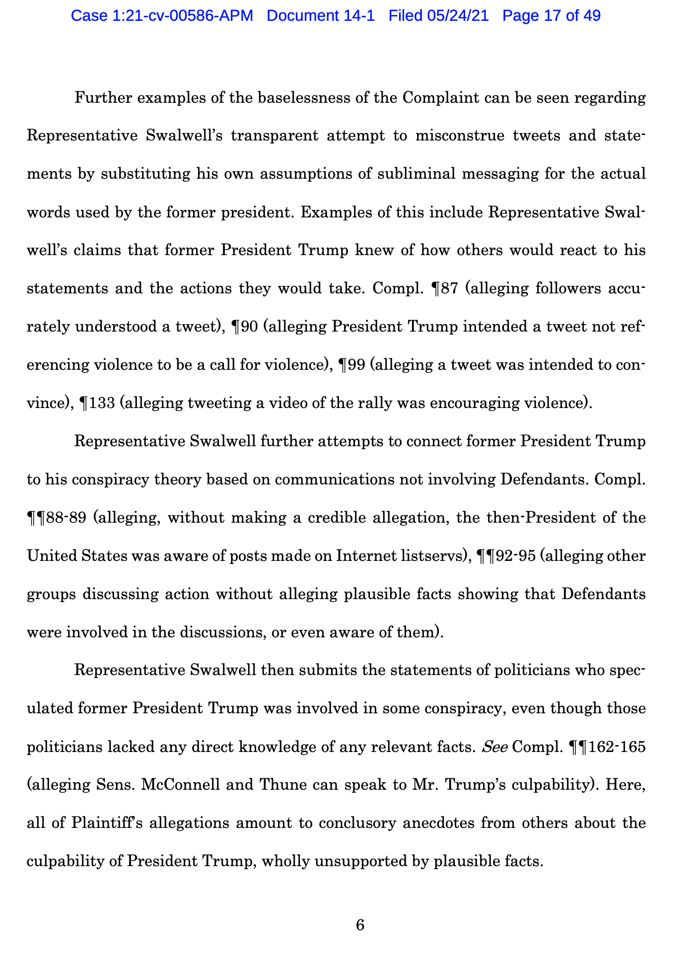 Screen-Shot-2021-05-25-at-9.49.53-AM Trump Declares Full Immunity From Jan. 6 Insurrection Lawsuit Crime Donald Trump Featured Politics Top Stories