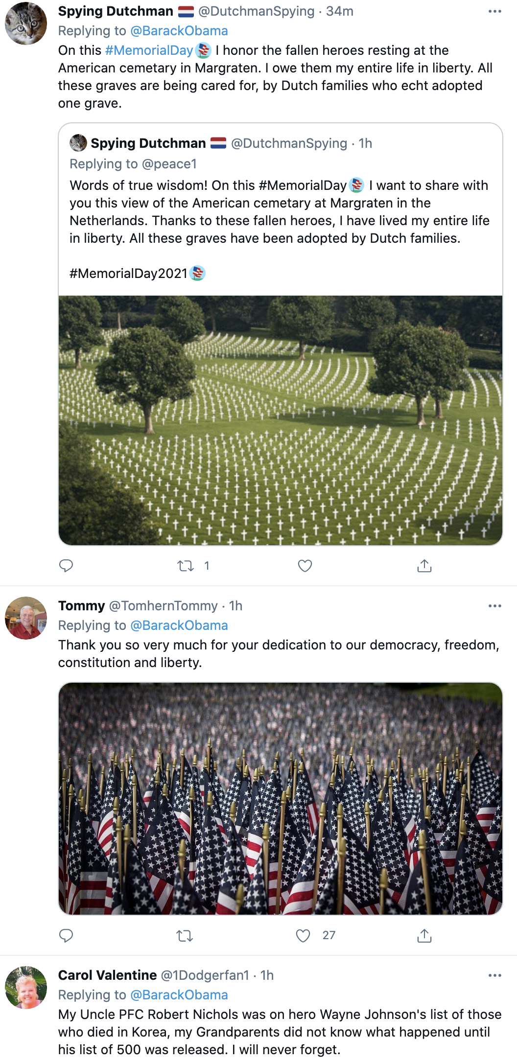Screen-Shot-2021-05-31-at-9.44.51-AM Obama Honors Memorial Day Like The Leader Trump Could Never Be Featured Military National Security Politics Top Stories