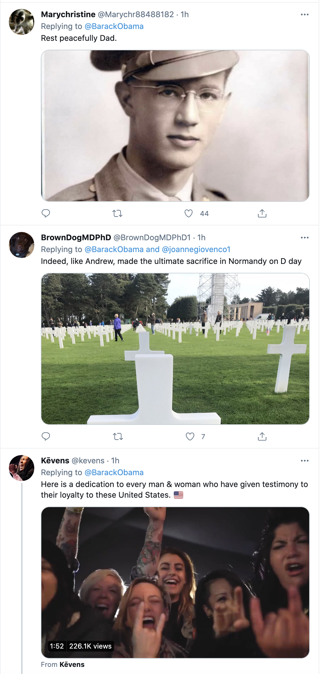 Screen-Shot-2021-05-31-at-9.46.00-AM Obama Honors Memorial Day Like The Leader Trump Could Never Be Featured Military National Security Politics Top Stories