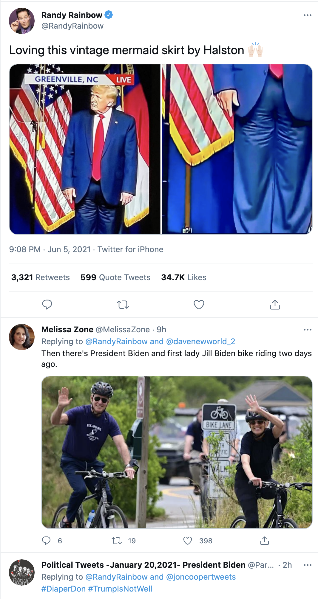Screen-Shot-2021-06-06-at-9.11.20-AM Trump Appears To Have A Malfunction With His Pants At NC Speech Uncategorized