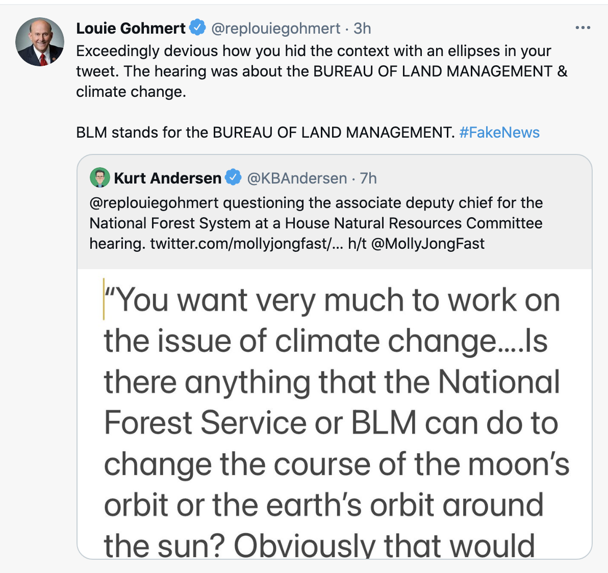 Screen-Shot-2021-06-09-at-2.21.38-PM-1 Gohmert Wants Scientists To Alter Earth's Orbit To Fight Fires Conspiracy Theory Environment Featured Politics Top Stories