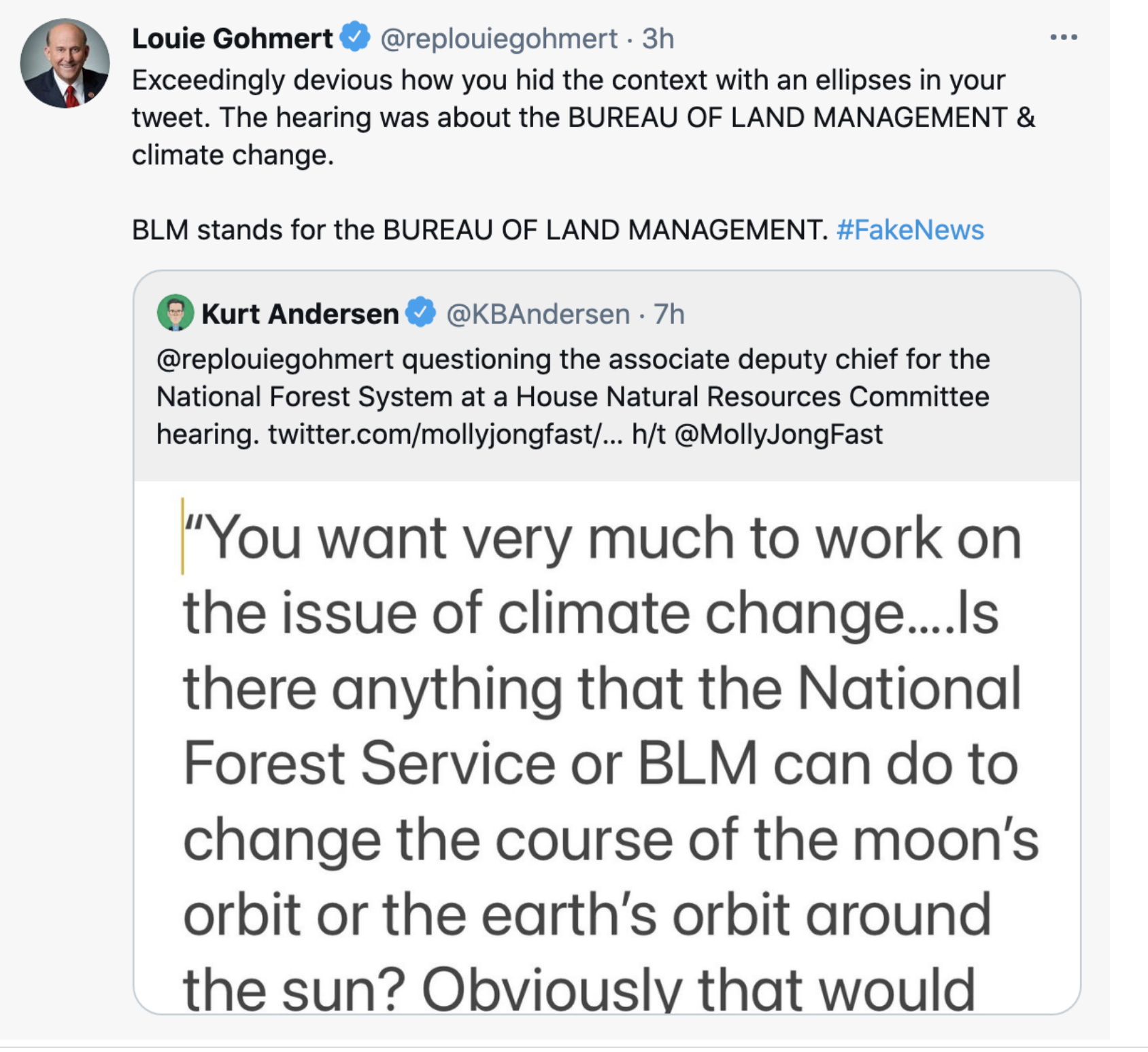 Screen-Shot-2021-06-09-at-2.30.19-PM Gohmert Wants Scientists To Alter Earth's Orbit To Fight Fires Conspiracy Theory Environment Featured Politics Top Stories
