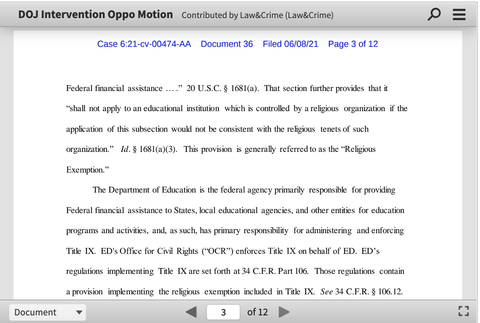 Screen-Shot-2021-06-09-at-6.31.41-PM Garland Defends Law That Lets Religious Schools Discriminate Against LGBTQ Featured Joe Biden LGBT Politics Top Stories