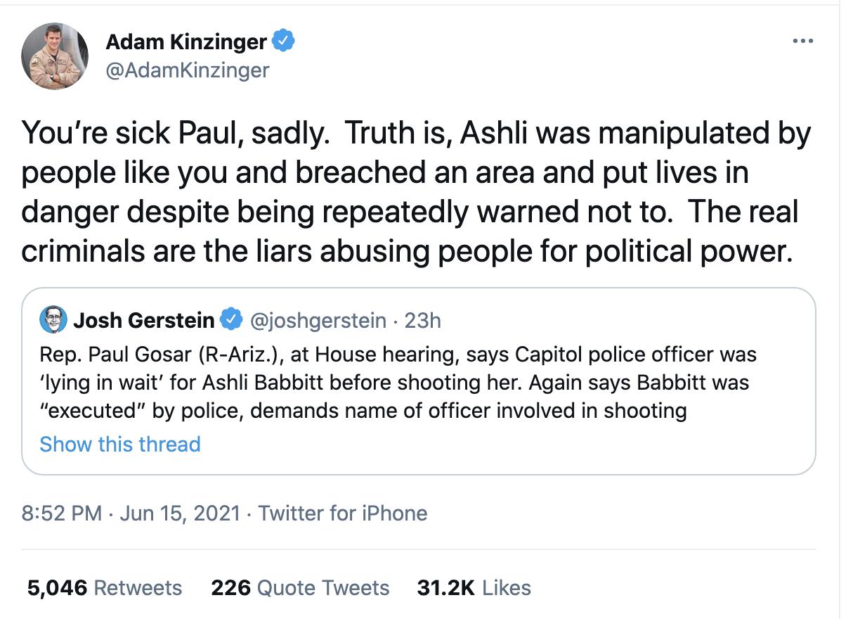 Screen-Shot-2021-06-16-at-3.04.14-PM Adam Kinzinger Tells Fellow Republican 'You're Sick' Over Jan 6 Denial Corruption Crime Featured Politics Top Stories
