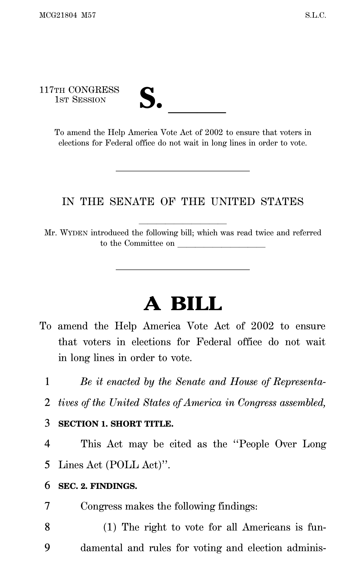 Screen-Shot-2021-06-17-at-3.53.23-PM Democrats Introduces Law To Guarantee Vote Within 30 Minutes Corruption Crime Featured Politics Top Stories