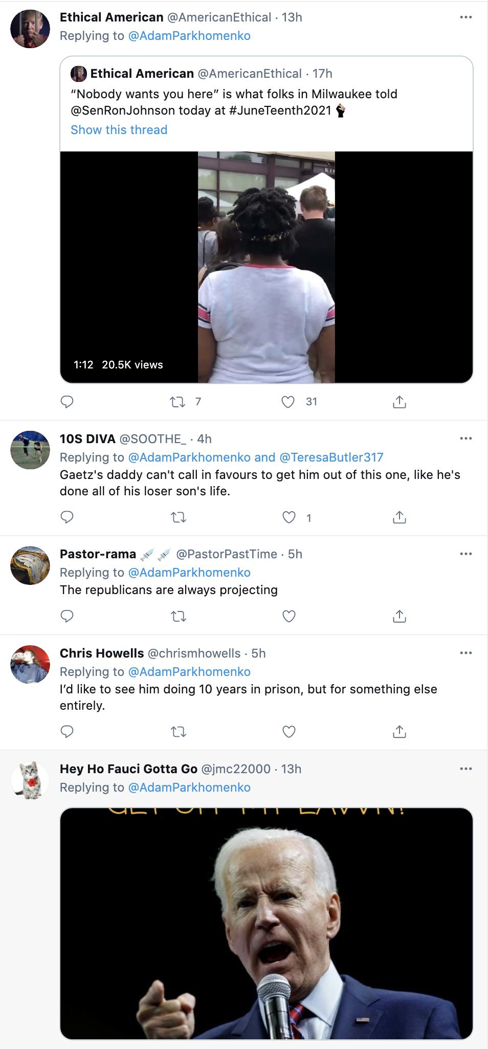 Screen-Shot-2021-06-20-at-10.40.39-AM 'Cokehead Matt Gaetz' Banner Flown Over Florida Trolling Congressman Crime Featured Politics Sexual Assault/Rape Top Stories