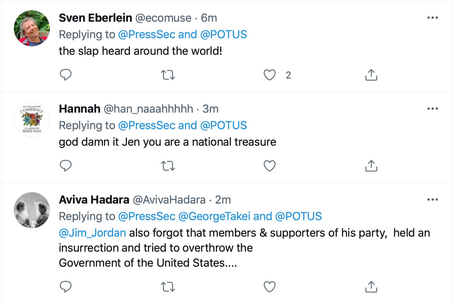 Screen-Shot-2021-06-21-at-12.58.50-PM Jen Psaki Makes Jim Jordan Look Even Dumber Than Usual Economy Featured Joe Biden Politics Top Stories Twitter