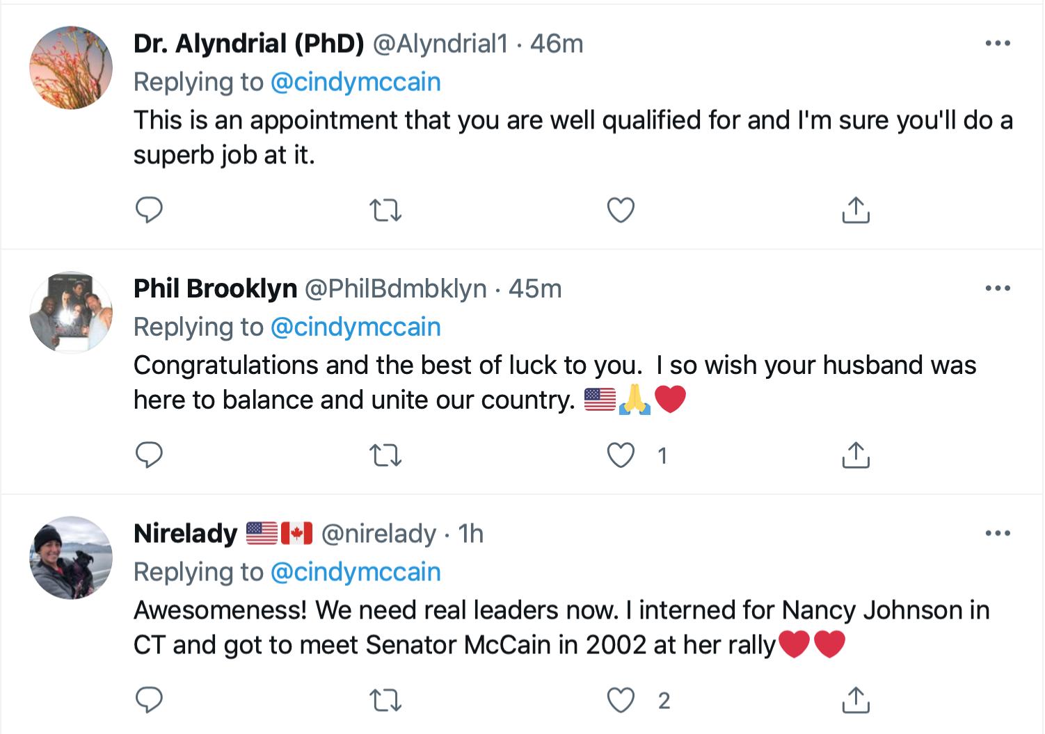Screen-Shot-2021-06-23-at-7.10.24-PM Biden Goes Bipartisan & Nominates Cindy McCain For Ambassador Featured Politics Poverty Top Stories