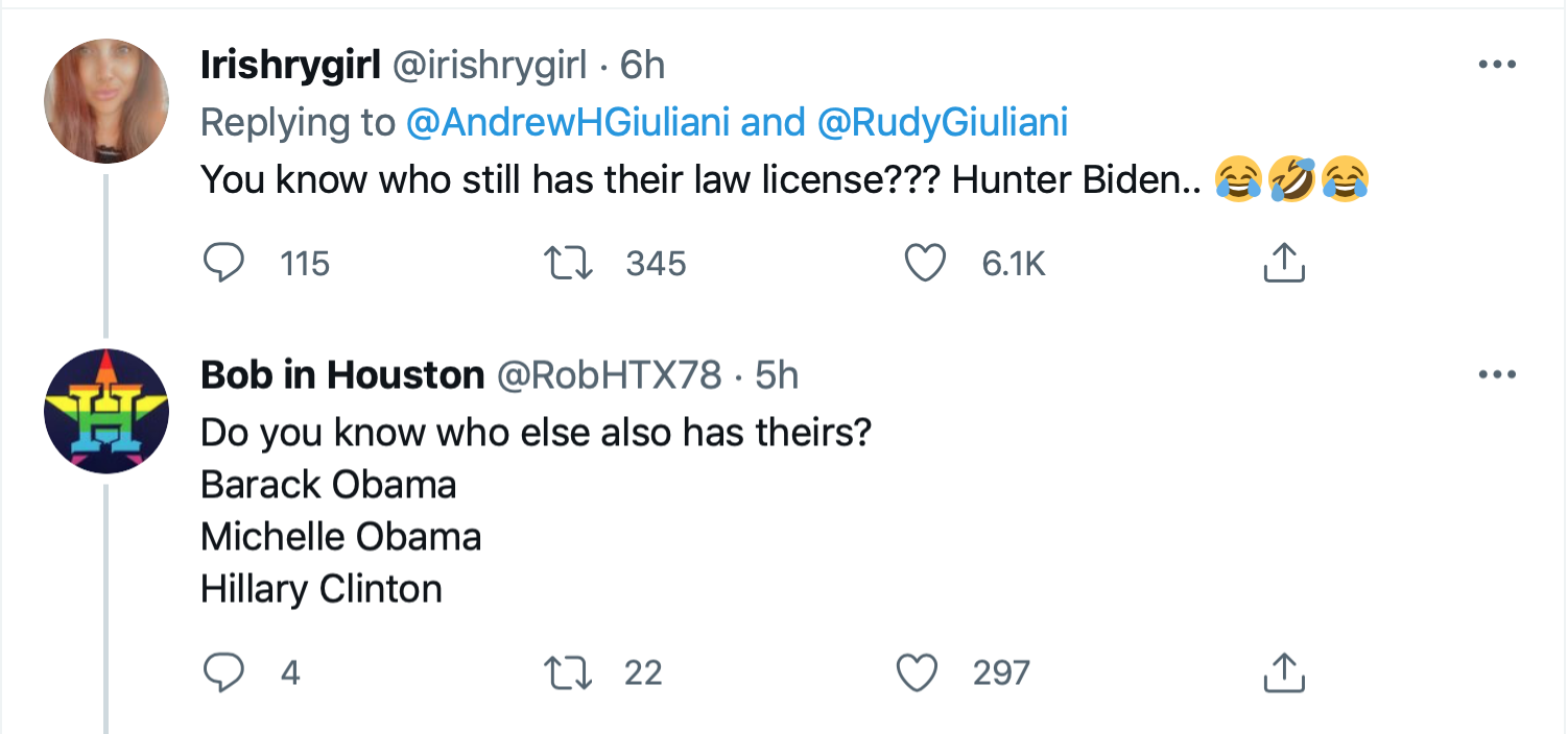 Screen-Shot-2021-06-24-at-7.55.03-PM Giuliani's Son Has Childish Hissy-Fit Over Daddy's Law License Donald Trump Featured Politics Top Stories Twitter