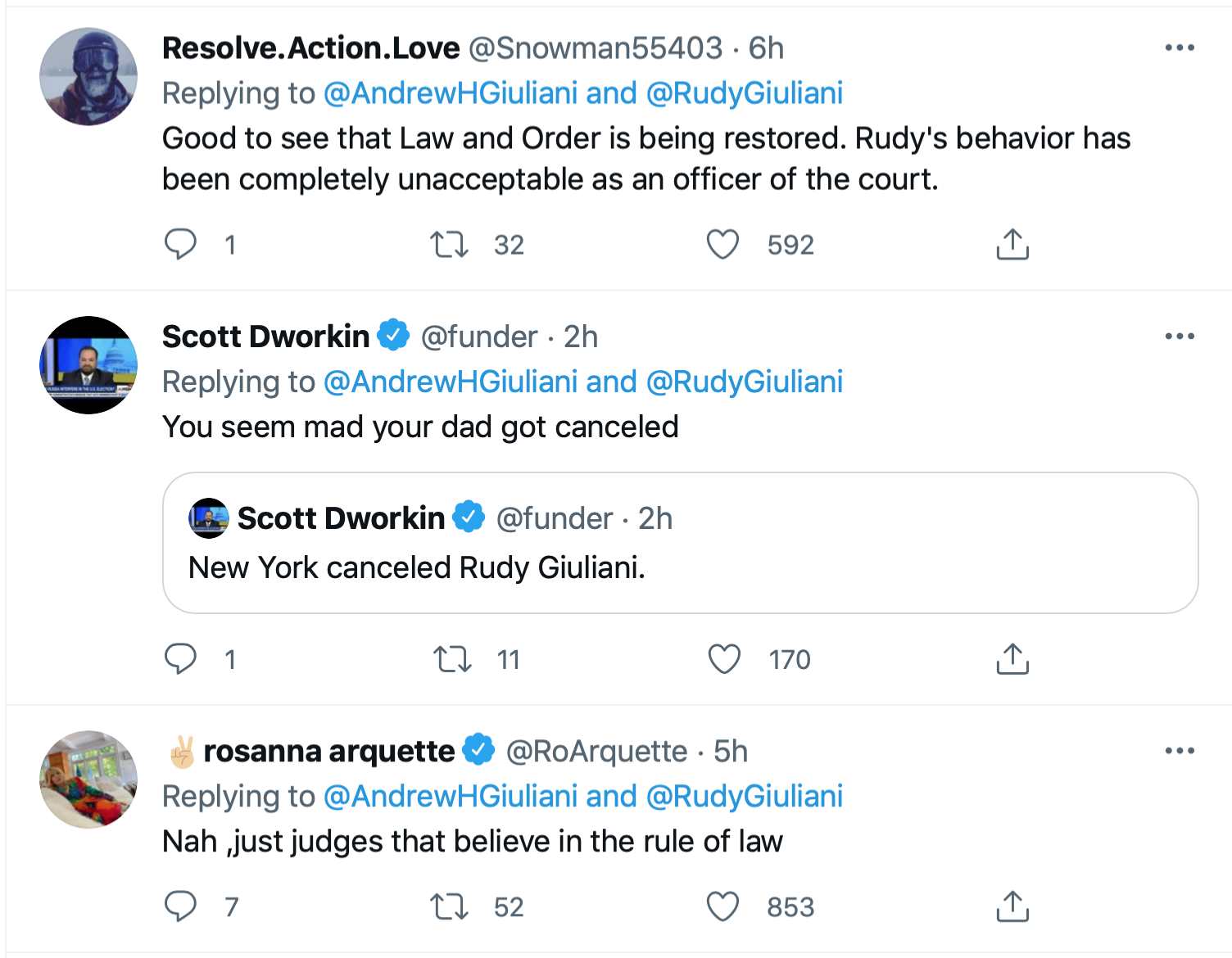 Screen-Shot-2021-06-24-at-7.55.52-PM Giuliani's Son Has Childish Hissy-Fit Over Daddy's Law License Donald Trump Featured Politics Top Stories Twitter