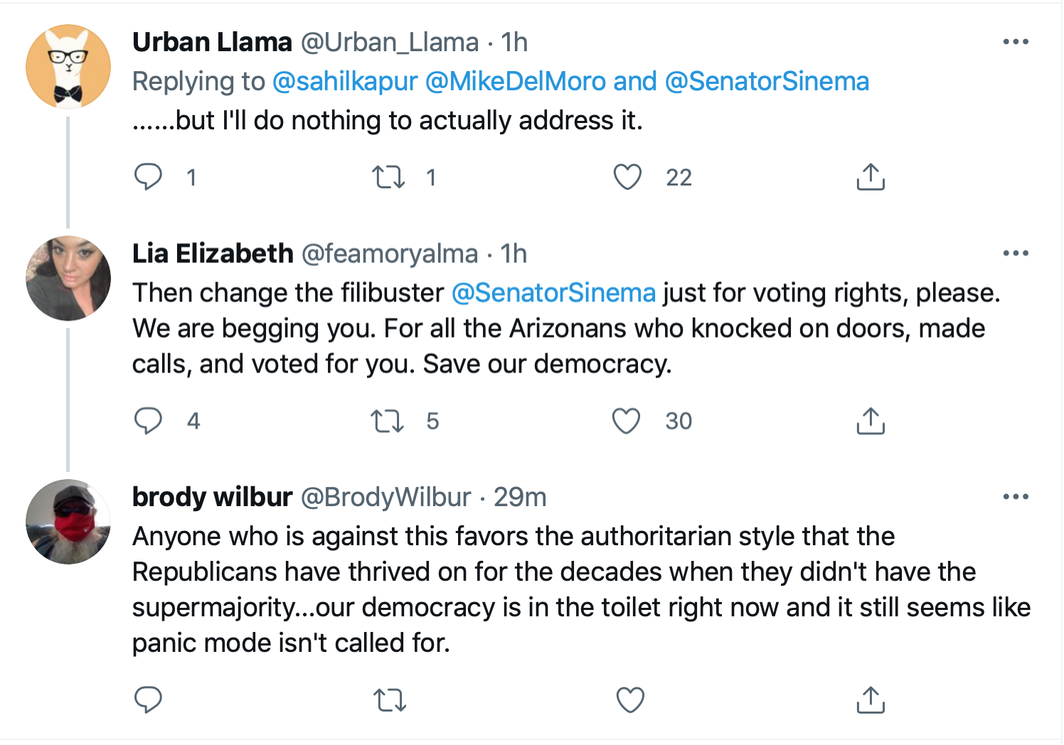 Screen-Shot-2021-07-01-at-4.33.59-PM Kyrsten Sinema Calls For Votings Rights Act After SCOTUS Ruling Civil Rights Featured Politics Top Stories Twitter
