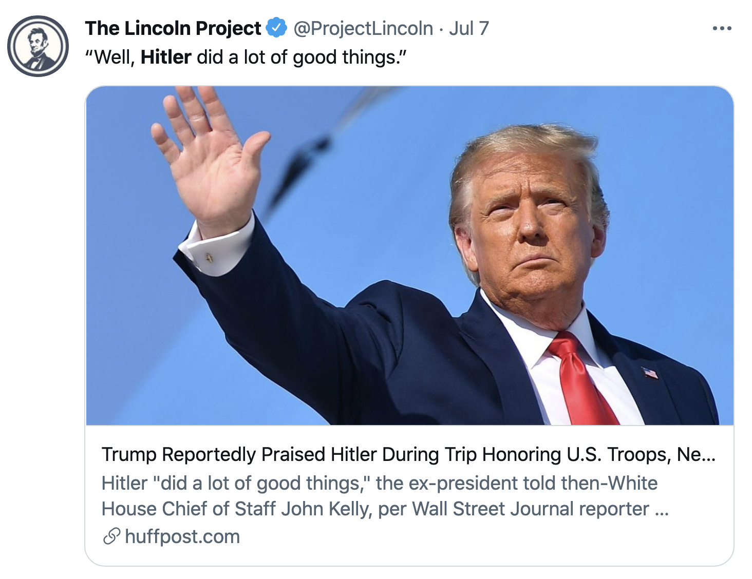 Screen-Shot-2021-07-13-at-9.45.17-AM 'The Lincoln Project' Steamrolls Traitor Trump In Viral Tuesday Video Uncategorized