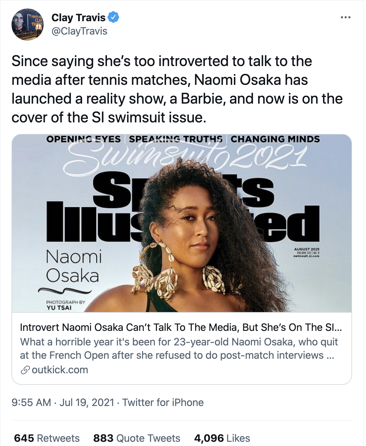 Screen-Shot-2021-07-20-at-10.50.52-AM Naomi Osaka Aces Disgraced Megyn Kelly Over Petty Online Attack Featured Politics Social Media Sports Top Stories