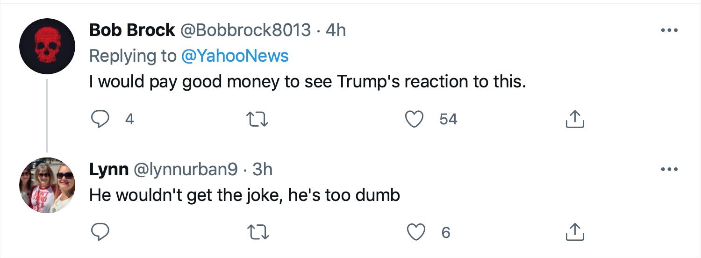 Screen-Shot-2021-07-20-at-5.37.54-PM Brady Buddies Up To Biden, Bruising Trump's Ego Celebrities Donald Trump Featured Politics Top Stories Twitter