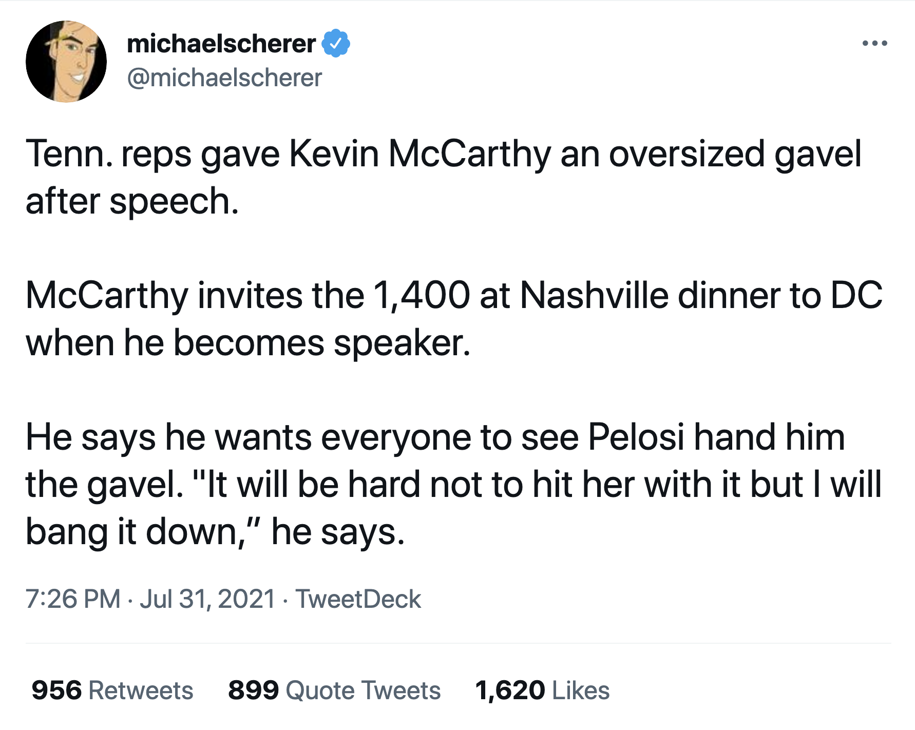 Screen-Shot-2021-08-01-at-12.48.05-PM Schiff Butchers McCarthy For Threatening 'Joke' About Pelosi Featured Politics Terrorism Top Stories Violence