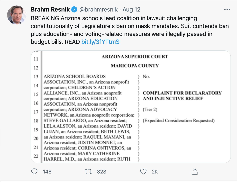 Screen-Shot-2021-08-14-at-7.10.15-PM Arizona Schools Form Coalition To Challenge GOP Mask Mandate Ban Uncategorized