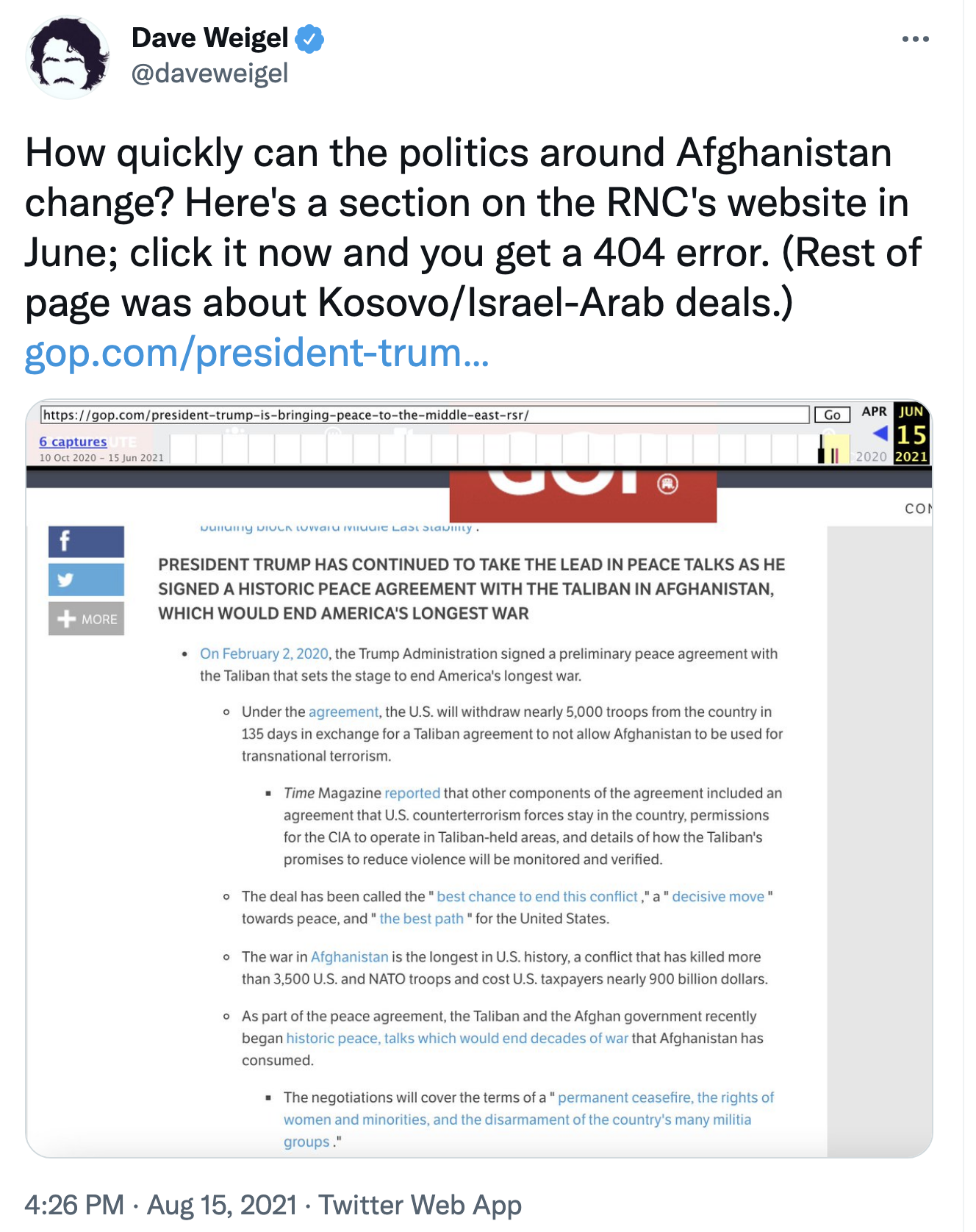 Screen-Shot-2021-08-16-at-12.19.28-PM Trump Has A Sad After World Blames Him For Afghanistan Failure Donald Trump Featured Military Politics Top Stories