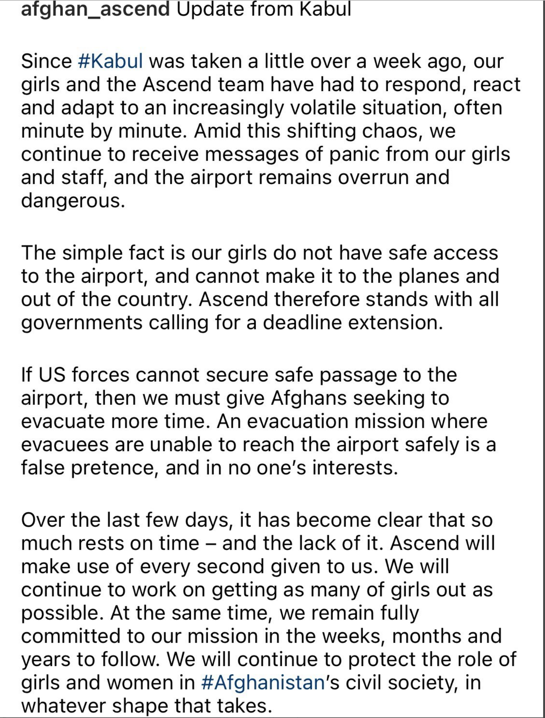 Screen-Shot-2021-08-25-at-4.04.30-PM Hillary Clinton Flies Targeted Afghan Women To Safety On Private Charters Featured Human Rights Politics Top Stories Women's Rights