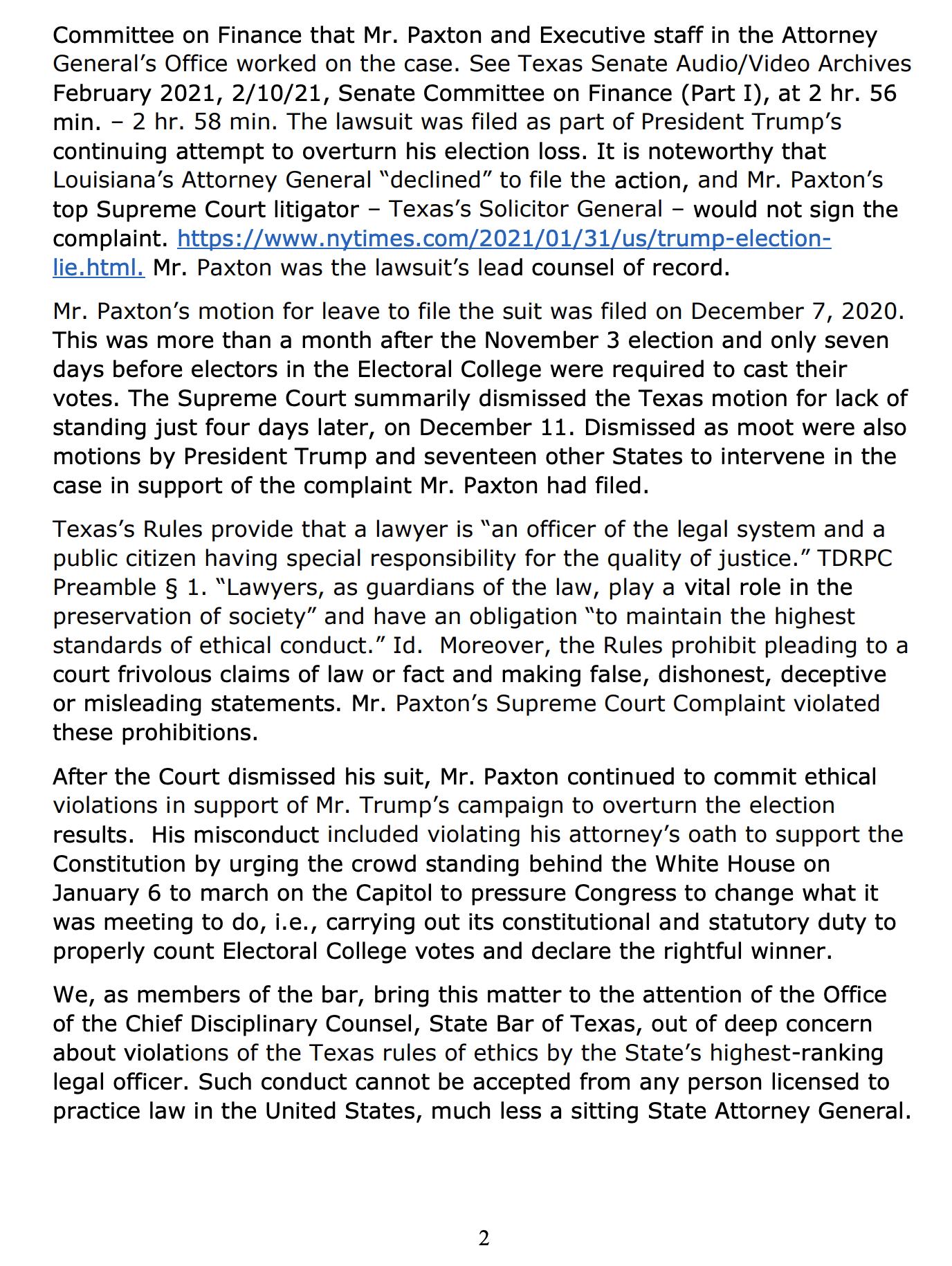 Screen-Shot-2021-08-31-at-10.02.30-AM Texas State Bar Puts AG Ken Paxton Under Immediate Investigation Crime Donald Trump Featured Politics Top Stories