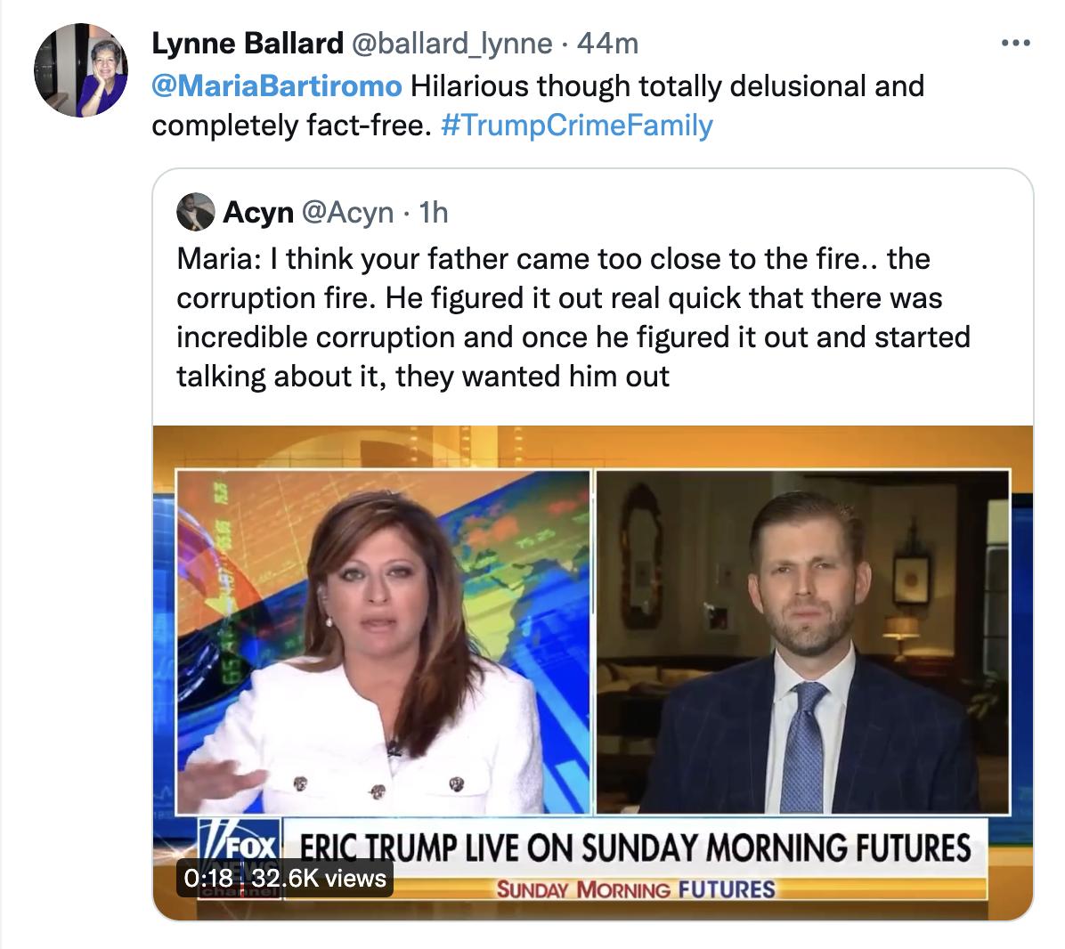 Screen-Shot-2021-09-19-at-11.50.40-AM Eric Trump Suffers A Sad On Fox News Over Subpoenas Targeting Daddy Corruption Donald Trump Featured Politics Top Stories