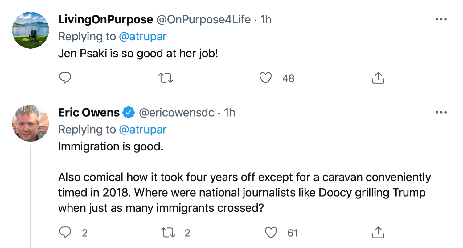 Screen-Shot-2021-09-22-at-4.12.18-PM Jen Psaki Shuts Up Peter Doocy With Clever Fact-Check Coronavirus Domestic Policy Featured Immigration Politics Top Stories Twitter Videos