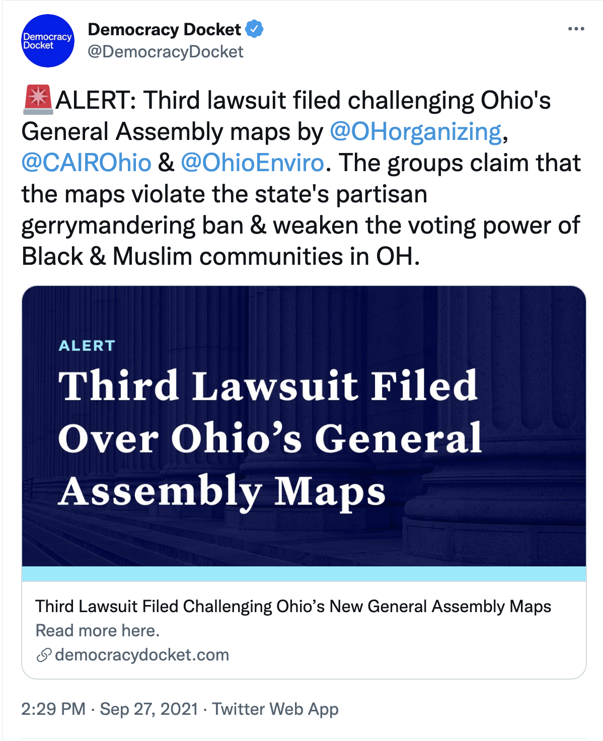 Screen-Shot-2021-09-27-at-2.41.16-PM Ohio GOP Gerrymandering Attempt Hit With Crippling Legal Action Civil Rights Corruption Domestic Policy Featured Politics Top Stories