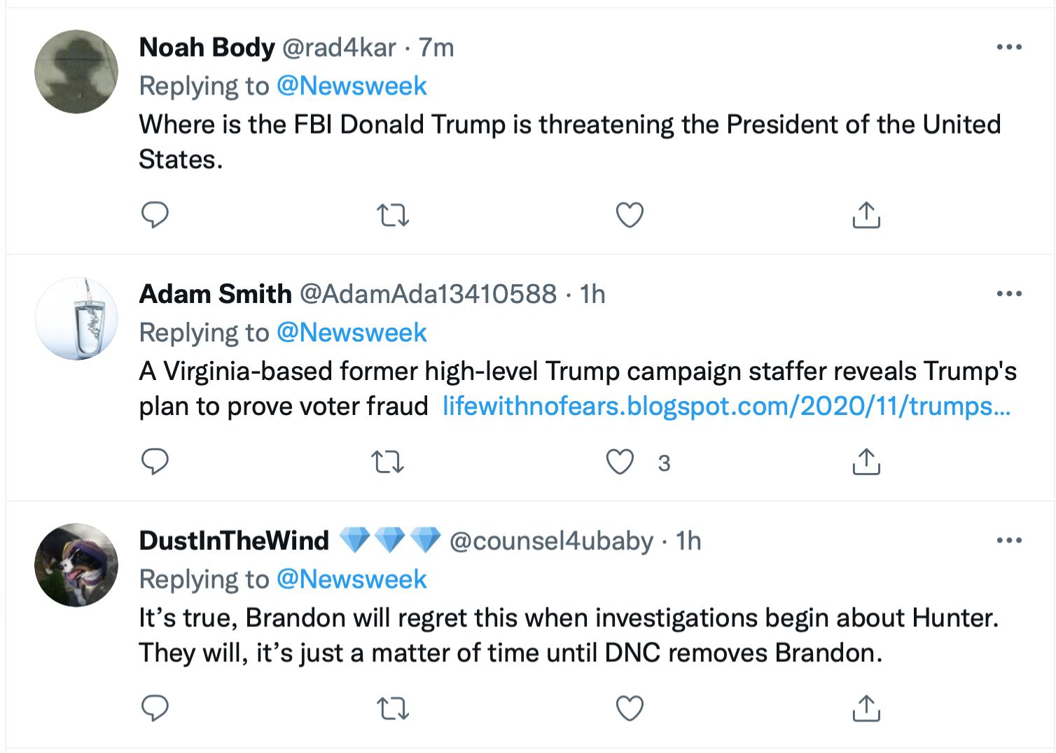 Screen-Shot-2021-10-09-at-4.06.34-PM Terrified Trump Has A Hissy-Fit After Biden Rejects Executive Privilege Corruption Crime Donald Trump Featured Joe Biden Politics Top Stories