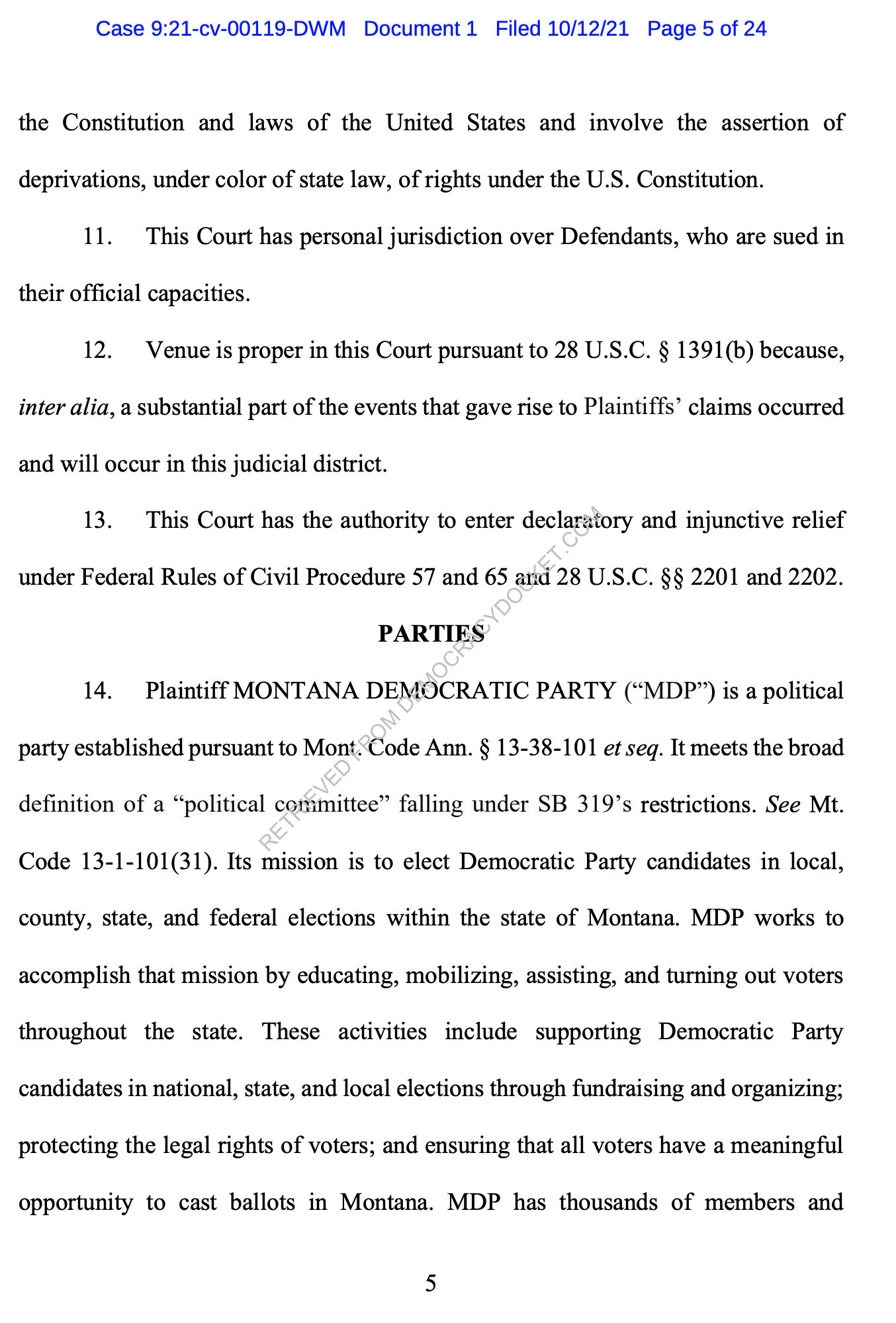 Screen-Shot-2021-10-12-at-10.25.07-AM Federal Legal Action To Stop Montana GOP Voter Suppression Announced Civil Rights Corruption Featured Politics Top Stories